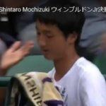 2019ウィンブルドン・ジュニア/望月慎太郎・日本男子初制覇
